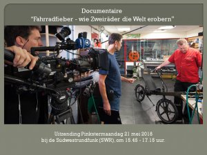 Documentaire Fietskoorts SWR